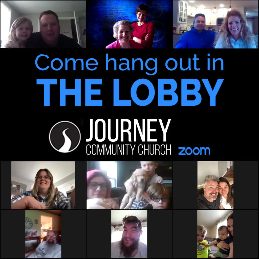 Join us in The Lobby