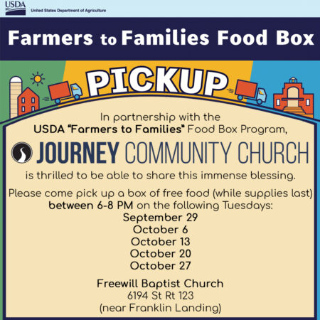 Farmers to Families Food Box