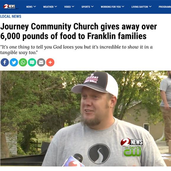Farmers to Families Food Distribution