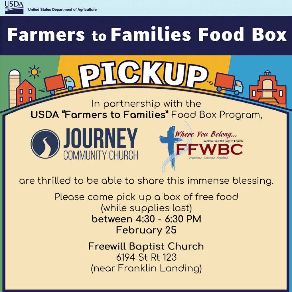 February 2021 Farmers to Families